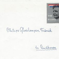Niederlande 1973 - Queen Juliana, misprint on letter - NVPH 1036f