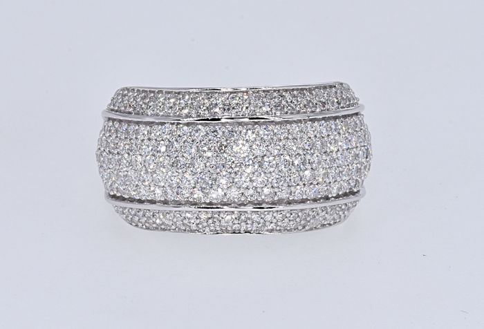 Ring - Witgoud - 2.17 ct - Diamant