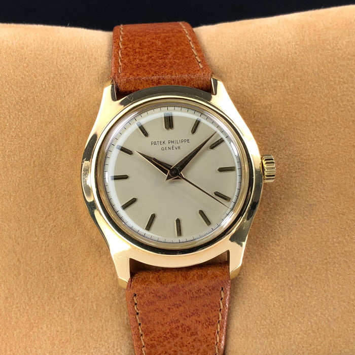 Patek Philippe - Geneve Calatrava Cream Dial 18k Yellow Gold - Ref: 2533 - Men - 1950-1959