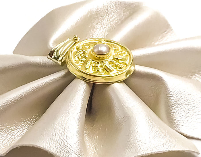 Pendant - Gold - Pearl