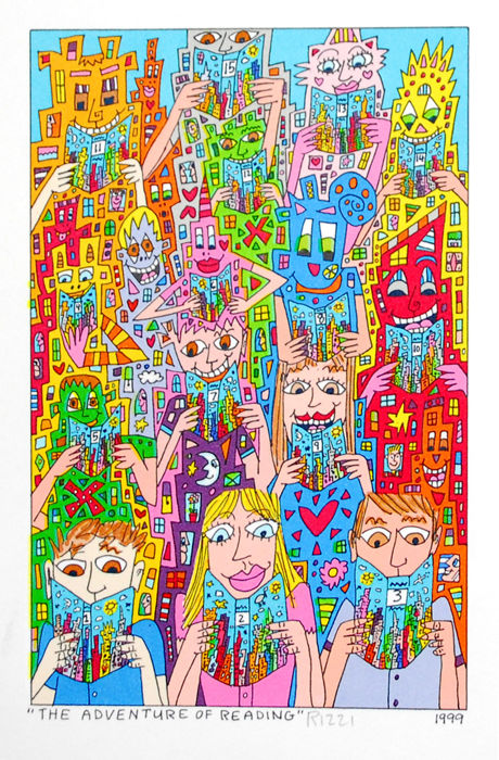 James Rizzi - The Adventure Of Reading