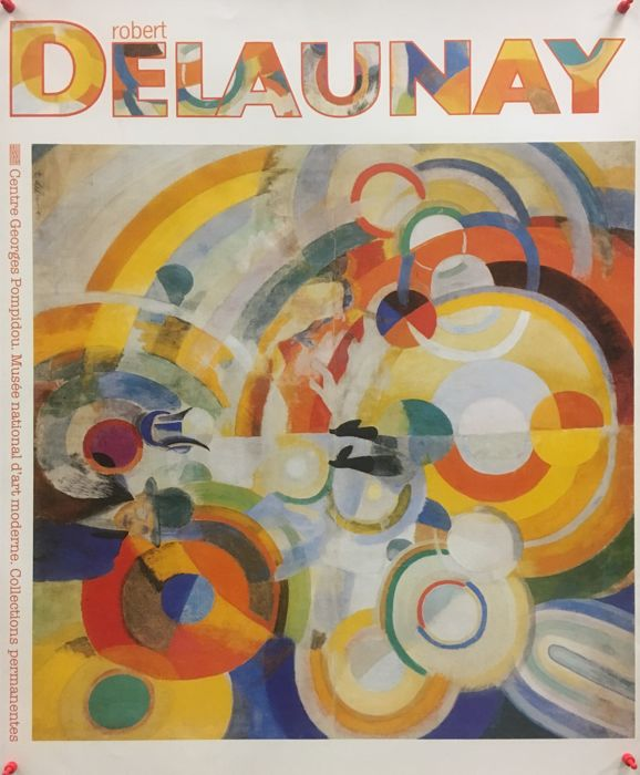 Robert Delaunay  - Centre Georges Pompidou (Pig rides) - 1985