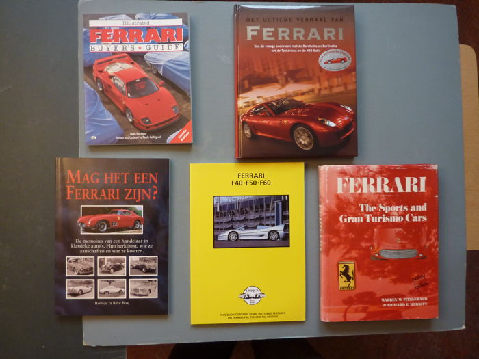 Books - Ferrari - 1968-2010 (5 items)