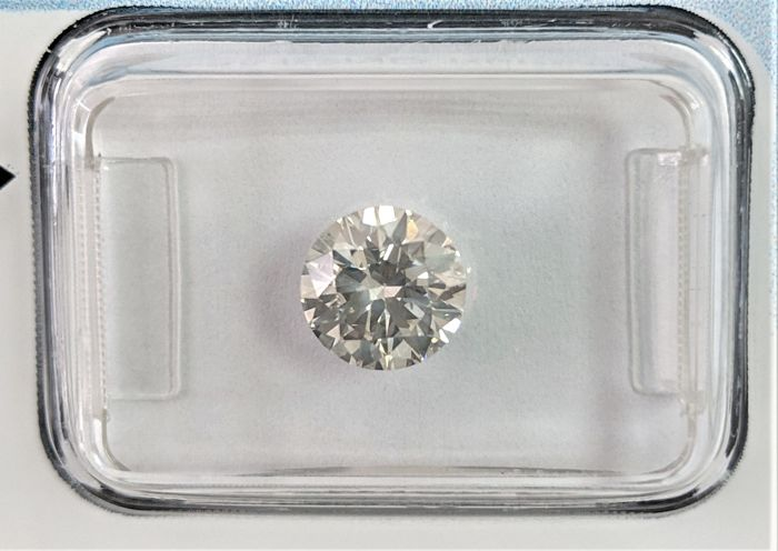 Diamond - 1.12 ct - Brilliant - I - IGI Antwerp, SI2
