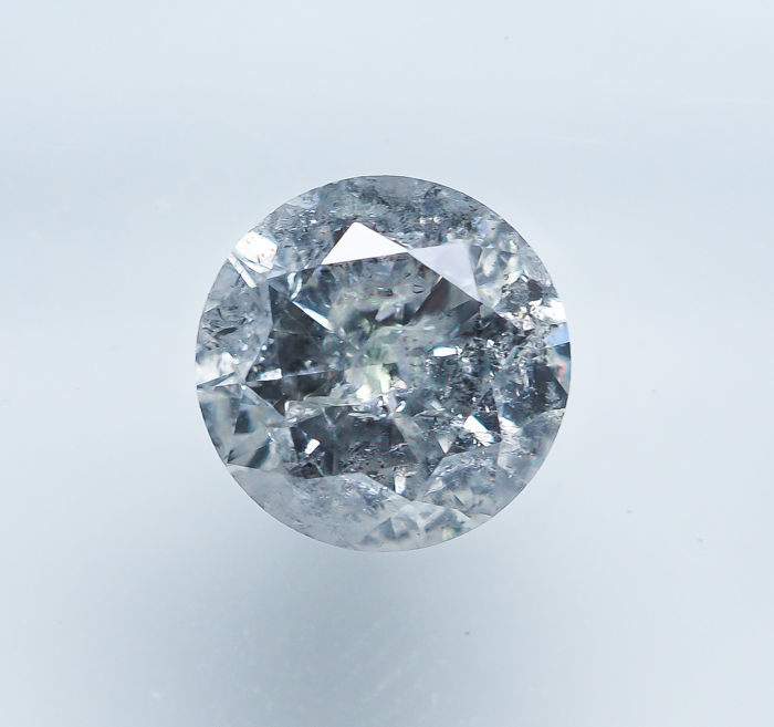Diamond - 0.83 ct - Natural White - I Color - I1 *NO RESERVE*