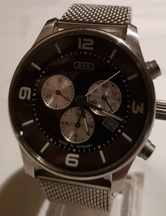 AUDI DESIGN - Montre Homme Chronographe Made in Germany - 2008