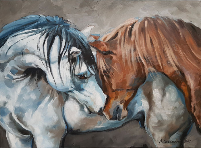 "Maria Sochaczewska - ""Tenderness of horses"""