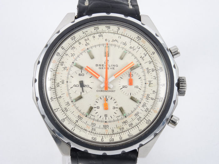 Breitling - Chronomat ref. 818 big case rare white dial - 818 - Men - 1960-1969