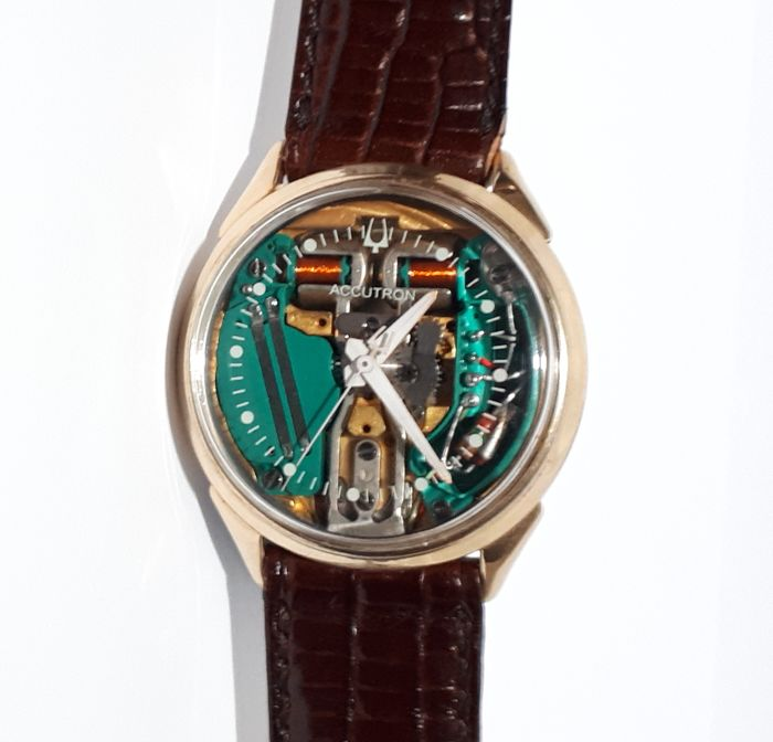 "Bulova - Accutron Spaceview M6 (1966) - ""NO RESERVE PRICE"" - 214 - Hombre - 1960-1969"