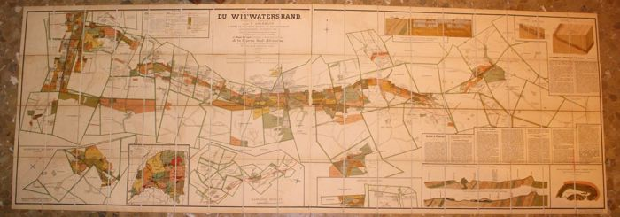 Südafrika, Bezirk Aurifere Du Witwatersrand Transvaal; Dupont, Henry -  District Aurifere Du Witwatersrand Transvaal - 1881-1900