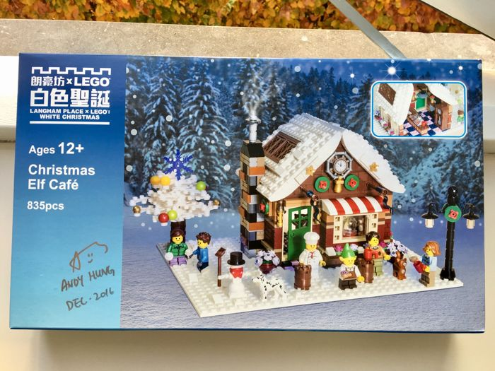 LEGO - Certified Professional - Christmas elf cafe - 2000-Present
