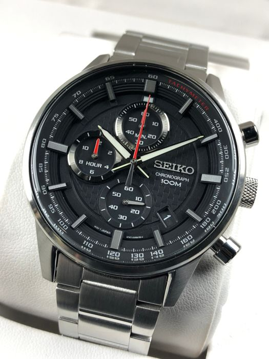 "Seiko - Neo Sports Chronograph - ""NO RESERVE PRICE""  - SSB313P1 - Homem - 2011-presente"