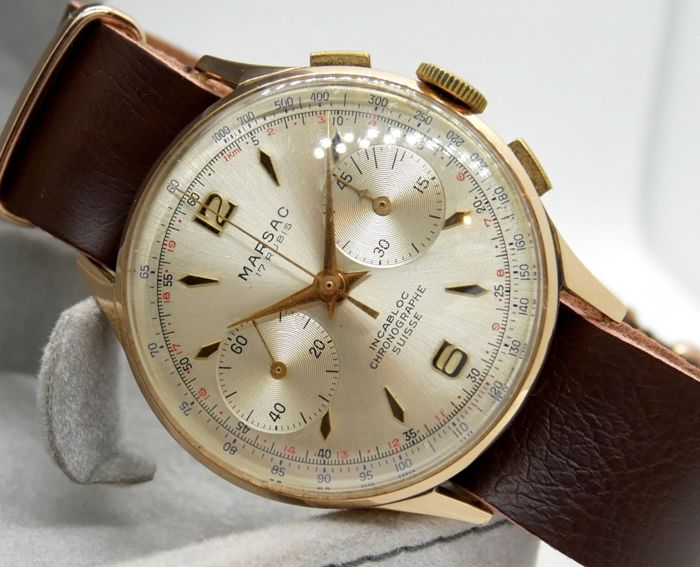 Chrongraphe Suisse - Almost NOS ! - Hombre - 1960-1969