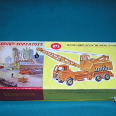 """Dinky Toys - 1:43 - #972 Lorry-Mounted Crane """"Coles"""""""