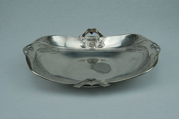 Dish - Silverplate - France - 1900-1949