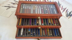 Iridium Point - Fountain pens - Complete collection of 50