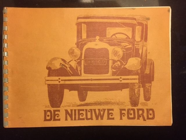 Brochures/ Catalogues - Ford Model A - 1929-1929 (1 items)