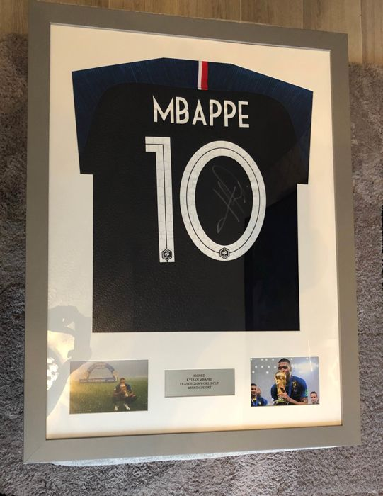 the latest 907e0 62dad France - World Cup - Kylian Mbappe - 2018 - Jersey - Catawiki