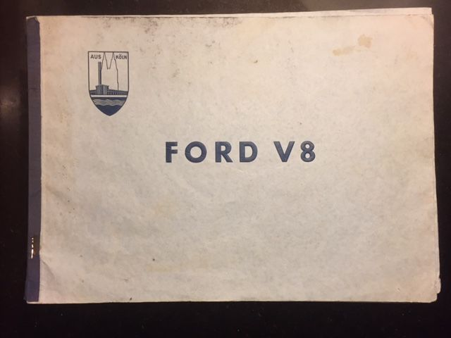 Brochures/ Catalogues - Ford V8 - 1938-1938 (1 items)