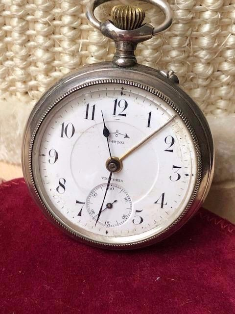 Victoria - Alarm pocket watch NO RESERVE PRICE - 1555825 - Men - 1850-1900