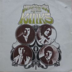 Rare first press mono UK copy of The Kinks, Something Else By the Kinks (PYE NPL.18193, 1967, UK, mono), very hard to find