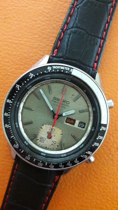 Seiko - CHRONOGRAPH automatic - Cal.6139  model - Men - 1970-1979