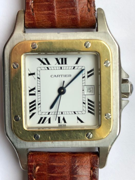 Cartier - Santos Galbee - Ref. 2961 - Men - 1981