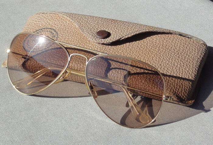 6bfce2effd Ray-Ban - B&L Changeables Aviator 58-14 Lunettes de soleil - Catawiki