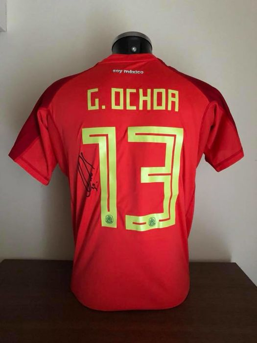 2daaa9bda85 Mexico - Football World Championships - Guillermo Ochoa - 2018 - Jersey