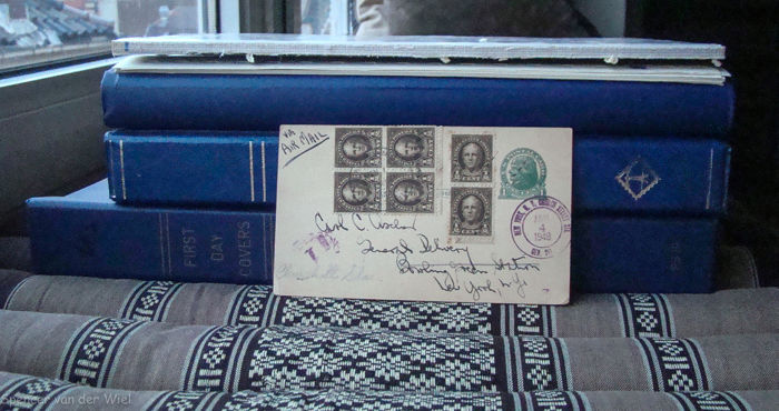 United States of America - 1870/1990 in 3 Albums/Sheets: Spec.delivery & Postage due