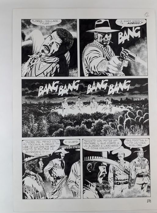 Tex Albo Speciale n. 27 - Civitelli - original page - Loose page - First edition - (2014)