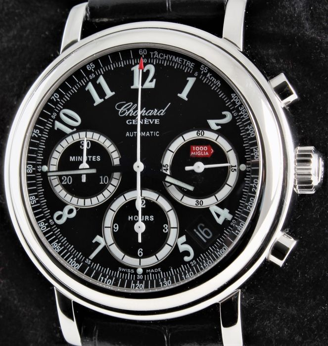 Chopard - Mille Miglia Automatic Chronograph - Ref. No 8331 - Excellent - Warranty  - Men - 2000-2010