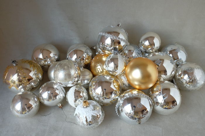 Big Christmas balls - 23 - Glass