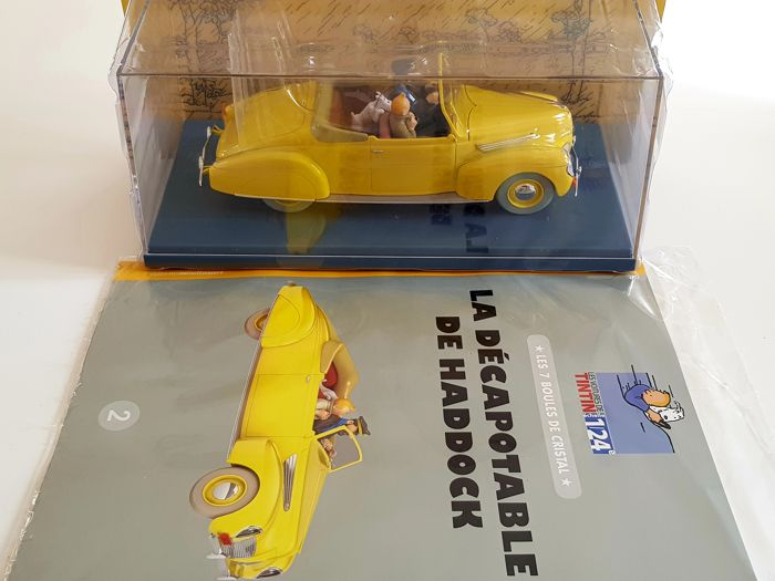 Tintin - Grand voiture Moulinsart (1/24) - Collection Hachette N
