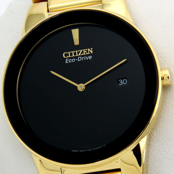 """Citizen - Eco Drive """"Gold - Great Look"""" - """"NO RESERVE PRICE"""" - Heren - 2018"""
