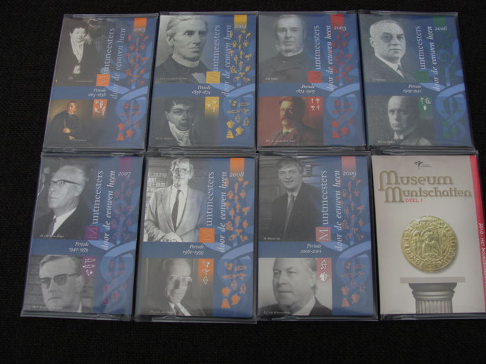 The Netherlands - Jaarsets 2003/2010 'Holland Coin Fair'  (8 verschillende)