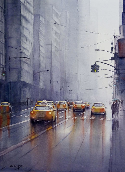 Paco Campos - Rainy day in NYC