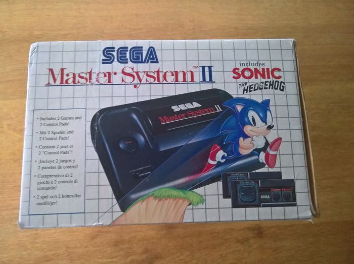 Sega Master System Console With Games 2 In Original Box Catawiki