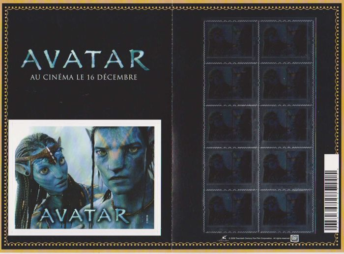 France 2009 - Collector Avatar, The Movie