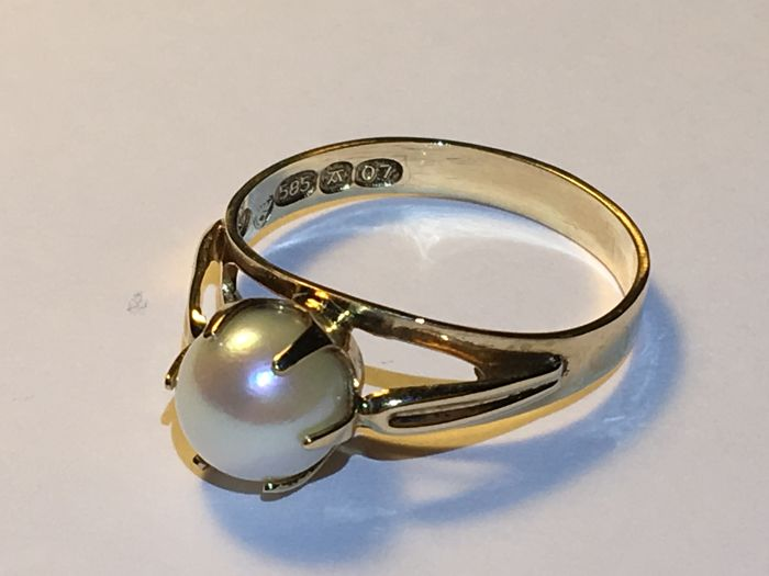 Ring - Gold - Pearl