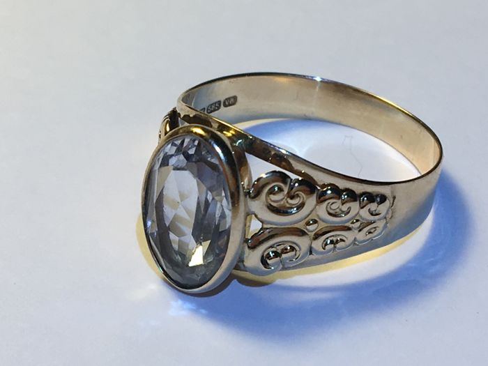 Ring - Gold - 3 ct - Spinell