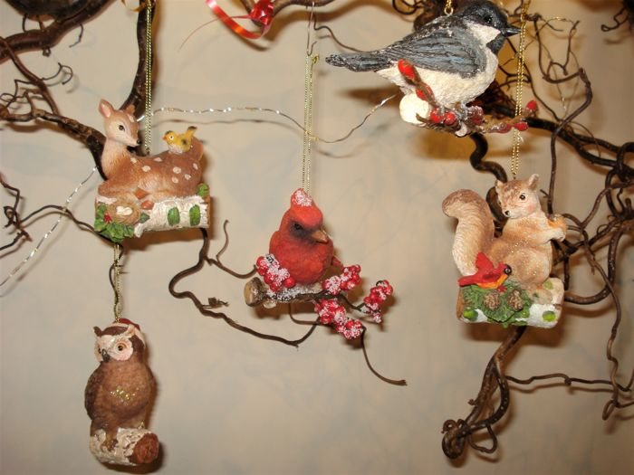 Five Forest Animals - Christmas / Decoration Hanger - other