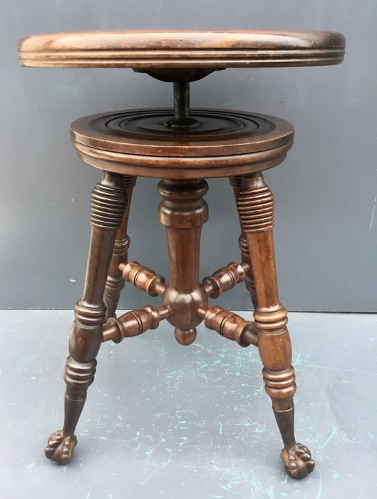 Stool With Claw Feet Benches & Stools Antiques