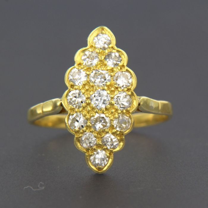 Ring - Gold - 1 ct - Diamond
