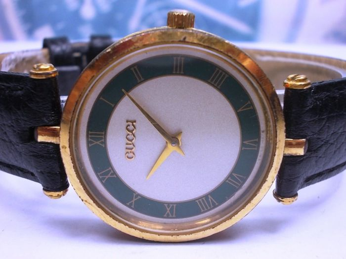 Gucci - Gold plated - model no. 2000M - Unisex - 1980-1989