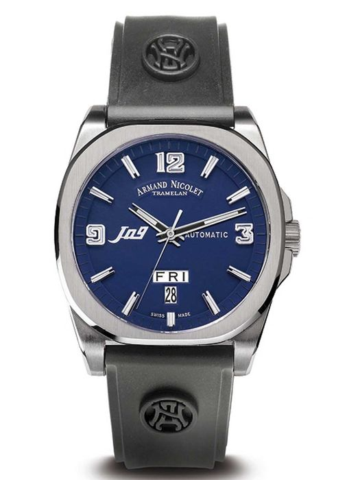 Armand Nicolet - J09-1 Day&Date Automatic - 9650A-BU-G9660 - Men - 2011-present