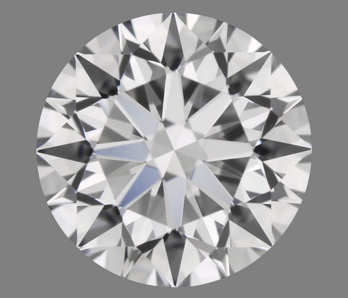Diamant - 0.52 ct - Brillant - D (incolore) - IF (pas d'inclusions)