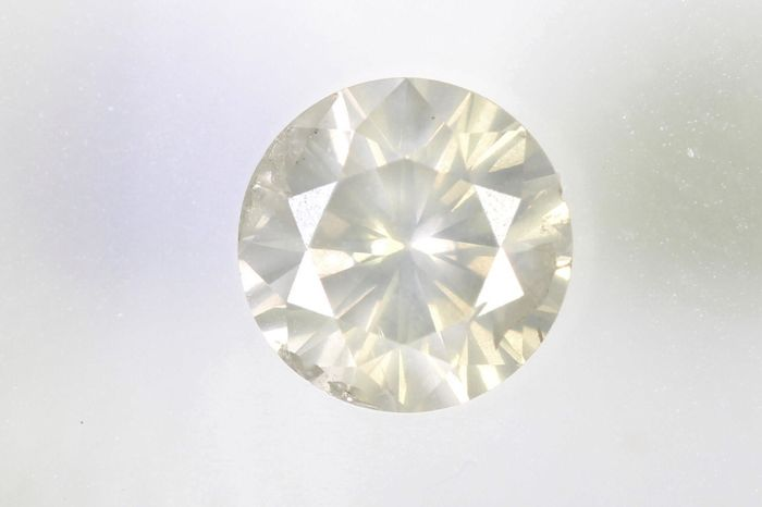Diamante - 0.58 ct - Brillante - J - I1, No Reserve Price