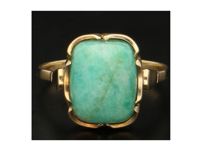 Ring - Gold - Turquoise