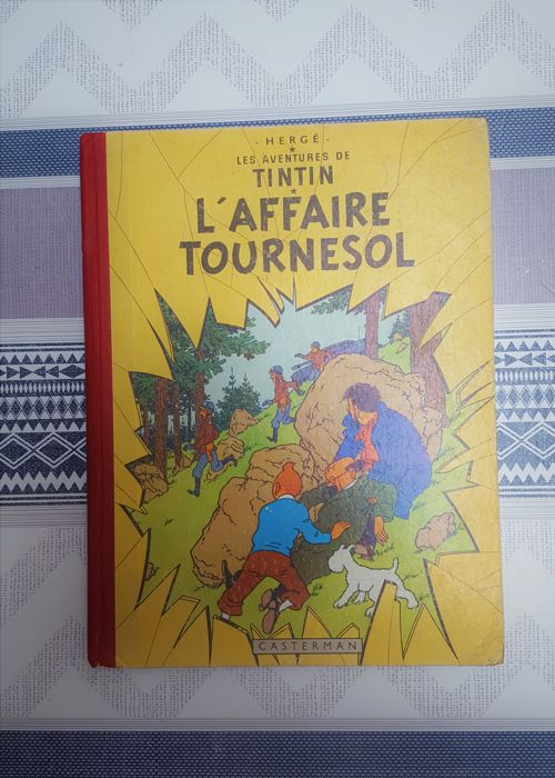 Tintin T17 - L'affaire Tournesol (B19, française) - Hardcover - First edition - (1956)